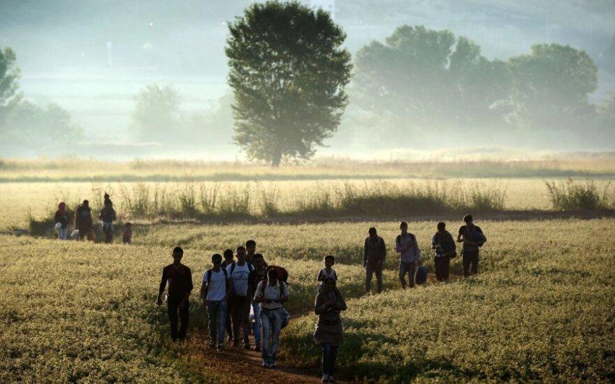 Pabėgėlių krizė: Lietuva negali nusisukti