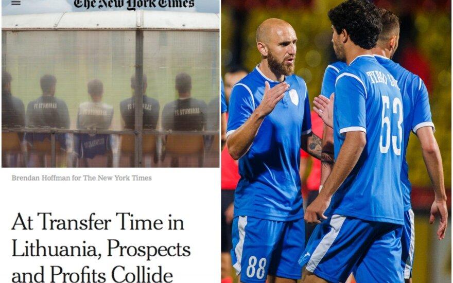 """""""The New York Times"""" išsamiai aprašė Kauno """"Stumbro"""" klubą"""