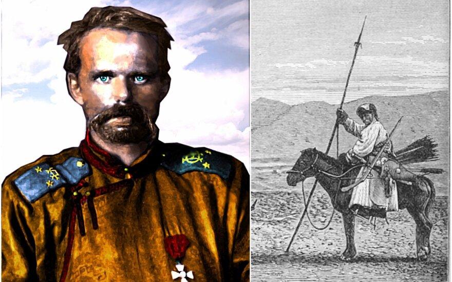 Kruvinasis baronas Ungernas / mongolų karys