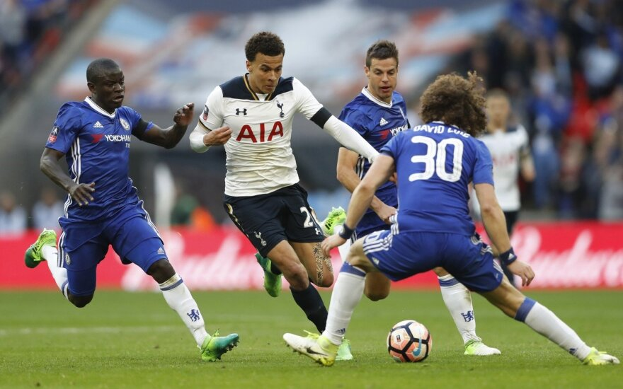 """Futbolas: """"Chelsea"""" – """"Tottenham"""""""