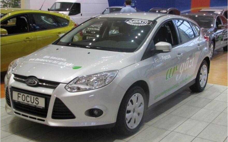 Ford Focus su dujų įranga