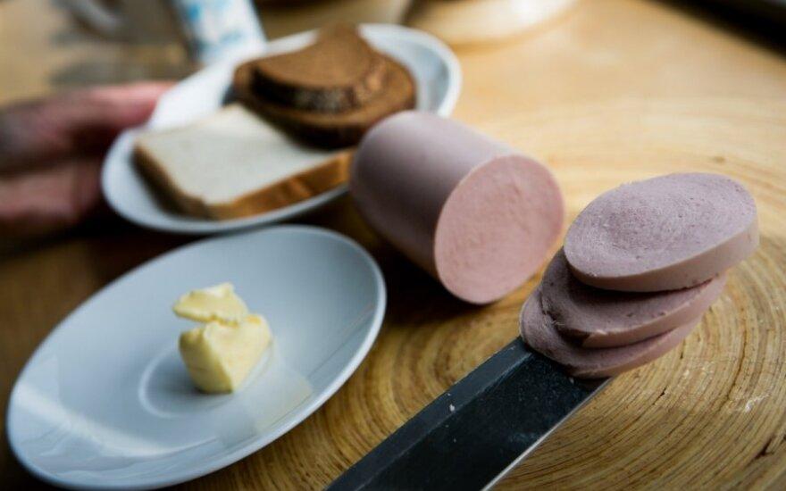 Sumuštinis su daktariška dešra ar fermentiniu sūriu – 520 kcal