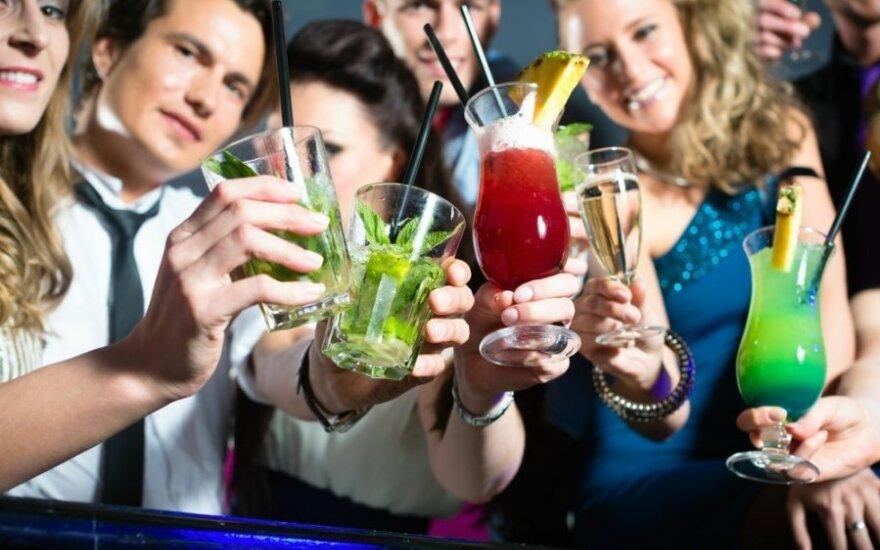 Pavojingiausi alkoholiniai gėrimai