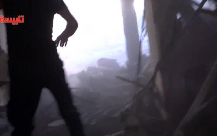 Rusė po atakų Sirijoje: slėpkite savo sūnus