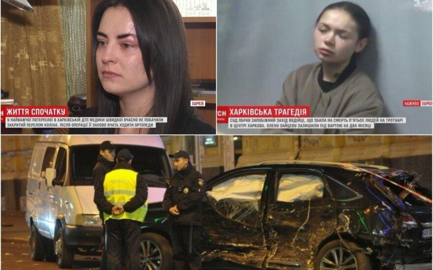 Šiurpi avarija Charkove apvertė gyvenimą: apie savo išgyvenimus prabilo atsigavusi moteris