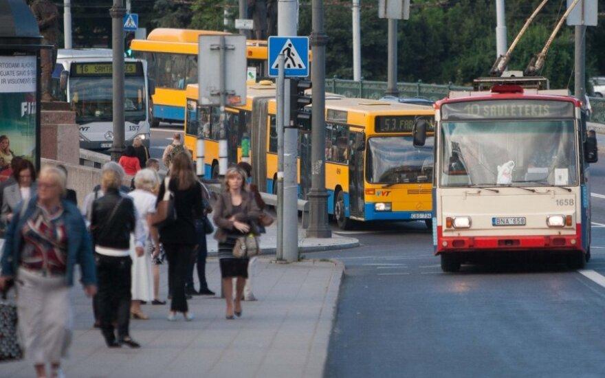 Demaskavo Vilniaus viešąjį transportą: kiek užtruko važiuodamas ryte