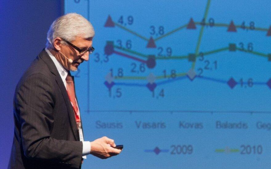 Gruževskis: skurdas ateina iš viršaus, per darbo apmokėjimą