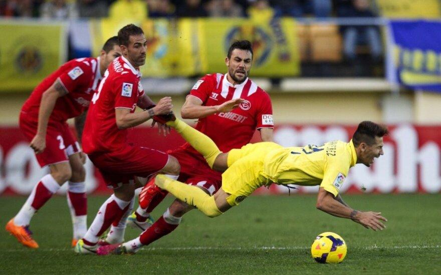 """Villareal"" ir ""Sevilla"" komadų rungtynės"