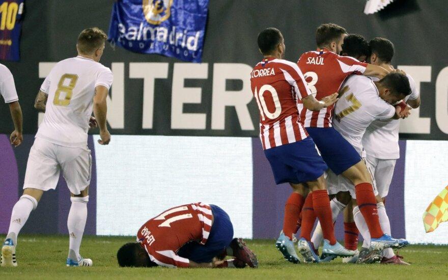 """Karštame Madrido derbyje – net 10 įvarčių ir visiškas """"Real"""" klubo pažeminimas"""