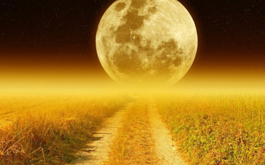 Mėnulio fazė, kurios metu dažniausiai pildosi norai