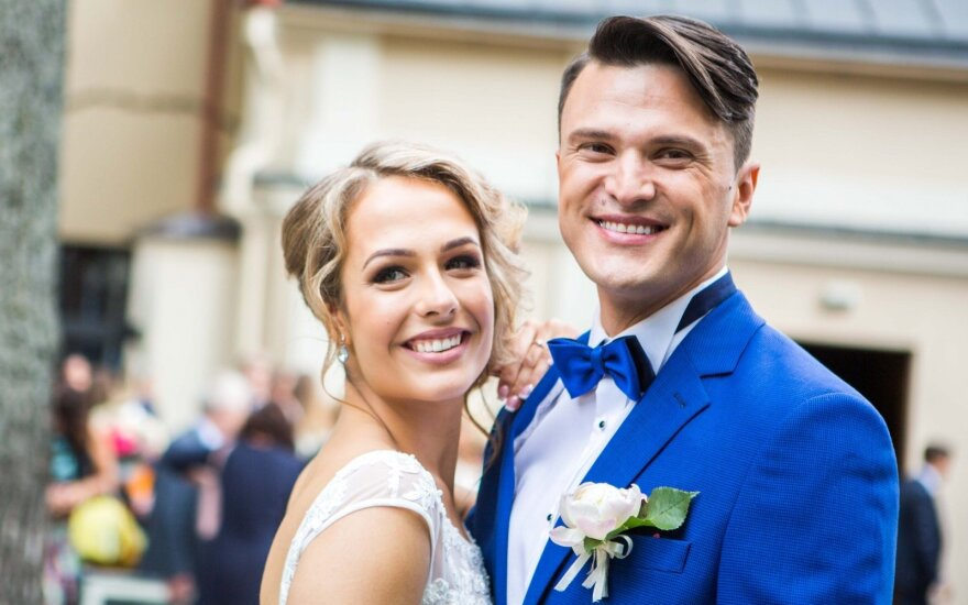 Tomo Pavilionio ir Gabrielės Lileikaitės vestuvės