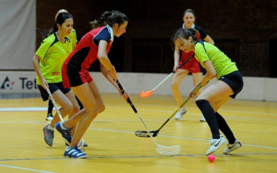 Moterų grindų riedulys (sportoakimirka.lt nuotr.)