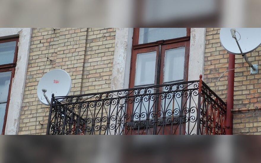 Vilniečiai bijo remontuoti balkonus
