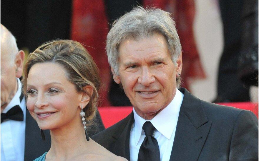Harrisonas Fordas ir jo žmona Calista Flockhart