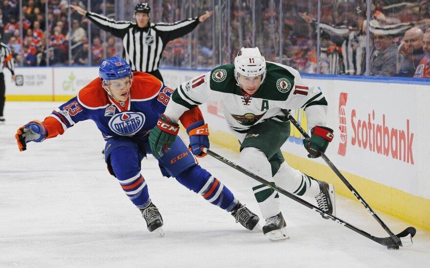 "NHL: ""Oilers"" – ""Wild"""