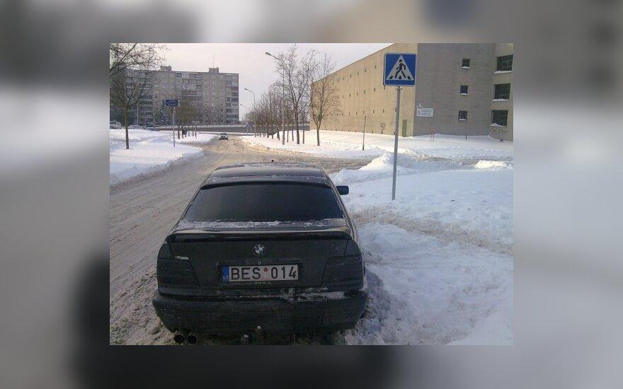 Vilniuje, A.J.Povilaičio g. 2010-02-03, 14.57 val.