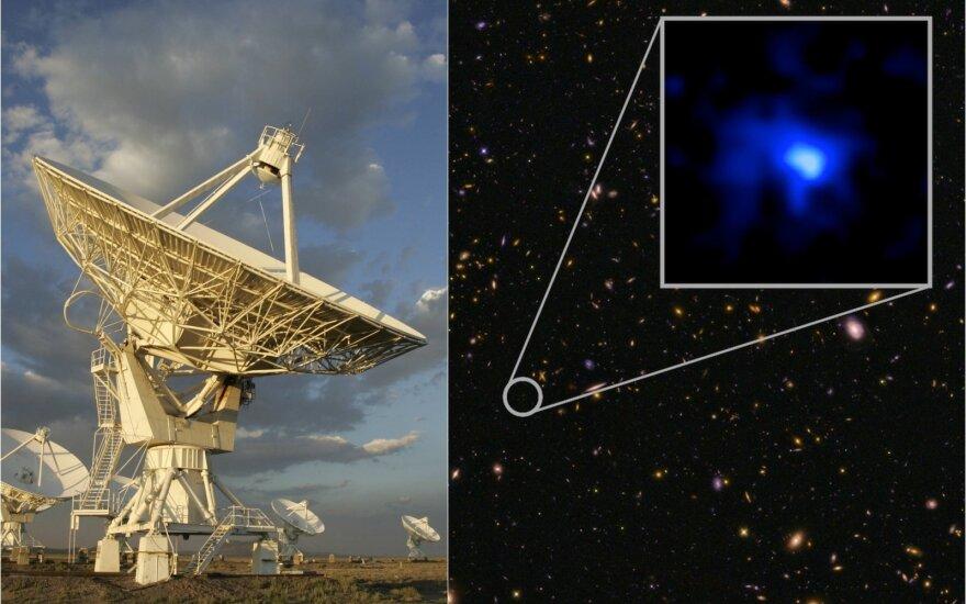 Pasikartojantis radijo signalas iš kosmoso