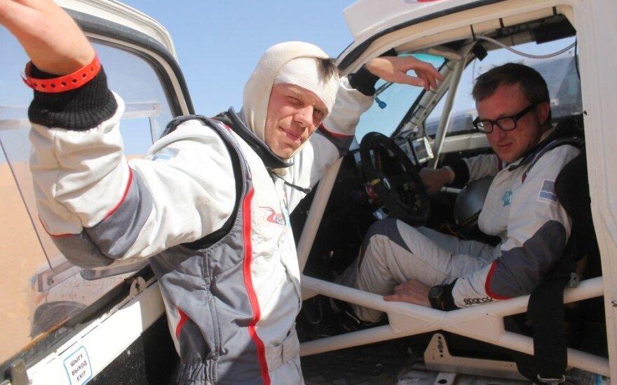 S. Jurgelėnas: grįžęs po Dakaro beveik parą miegojau