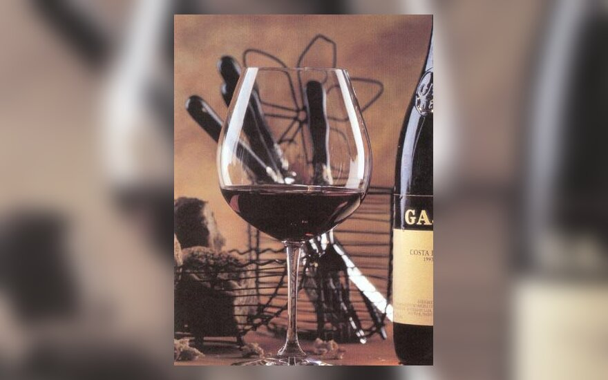 Taurė vyno