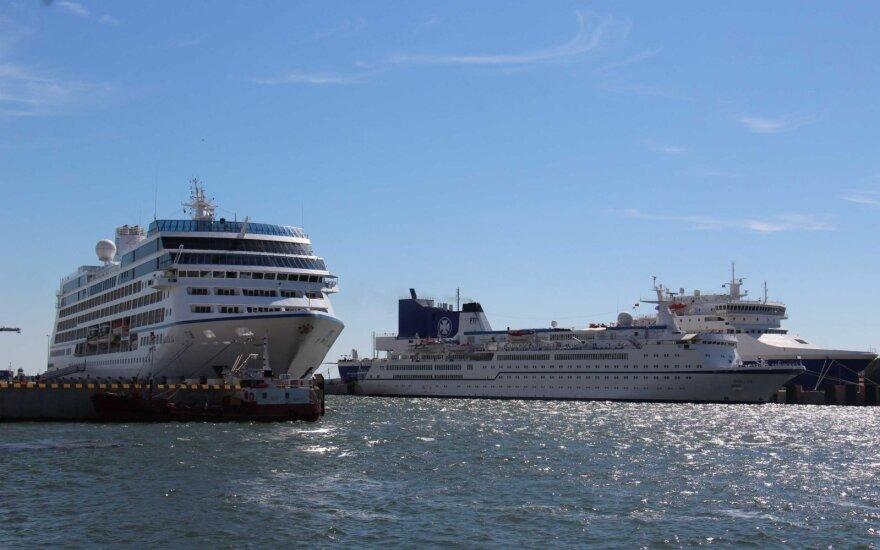 Klaipėdą užplūdę kruiziniai laivai kelia ir rūpesčių