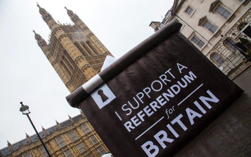 """L. Walesa: po galimo """"Brexit"""" Vokietija turėtų imtis vadovaujančio vaidmens ES"""