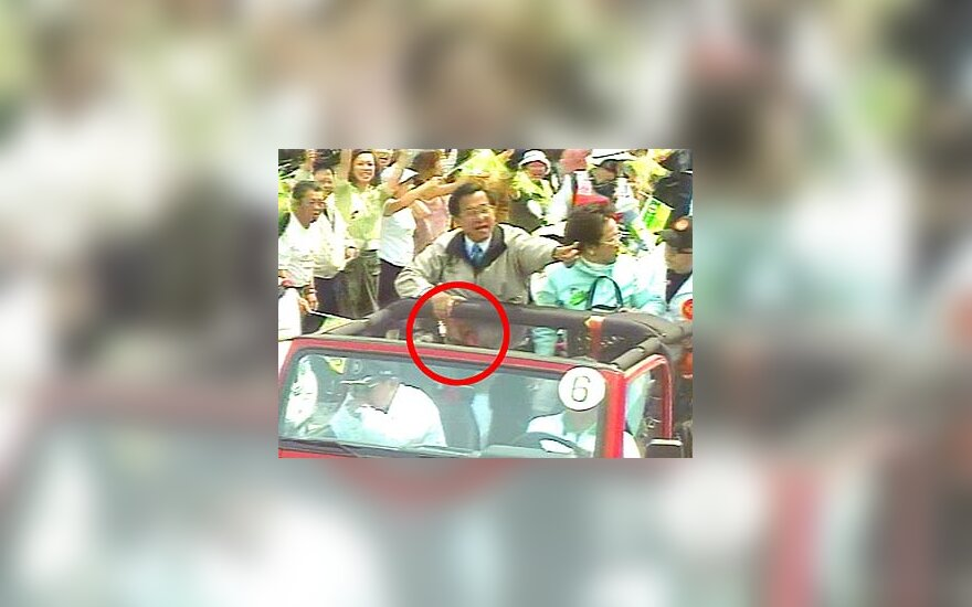 Pasikėsinimas į Taivano prezidentą
