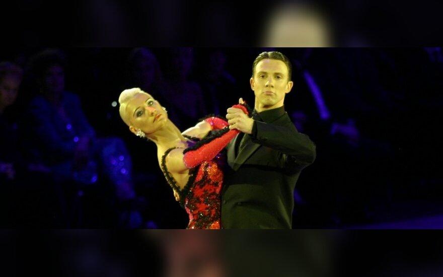 Arūnas Bižokas ir Katiuša Demidova