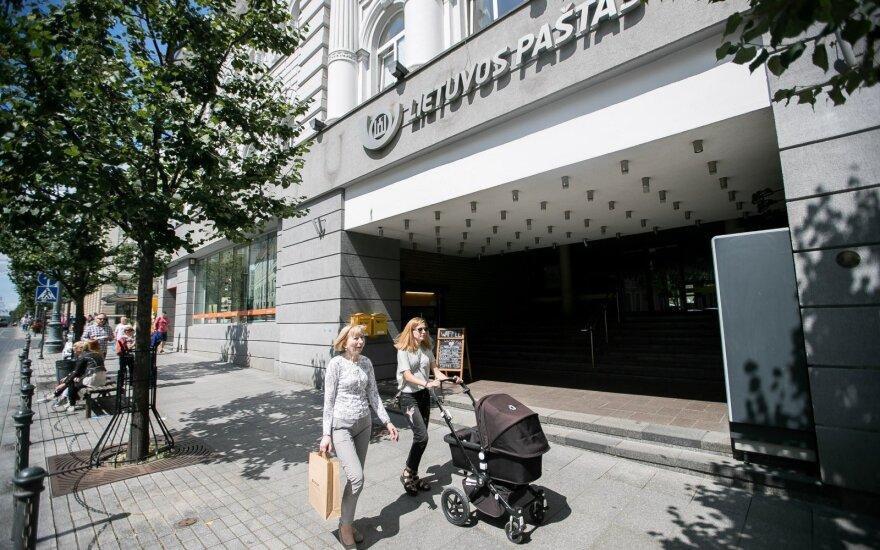 Lietuvos pašto pelnas išaugo dešimtimis kartų