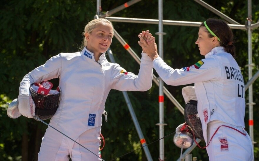 Ieva Serapinaitė ir Lina Batulevičiūtė