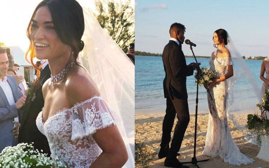Shanina Shayk vestuvės