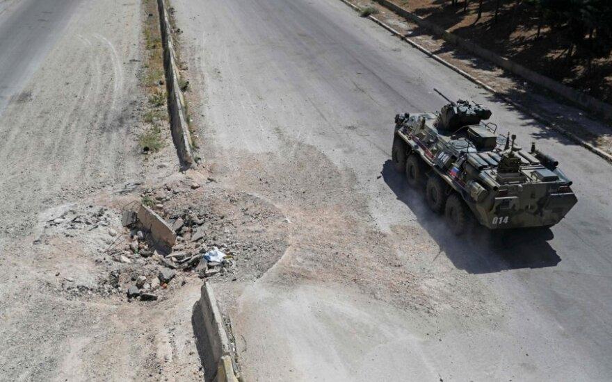 Rusų šarvuotis Sirijoje