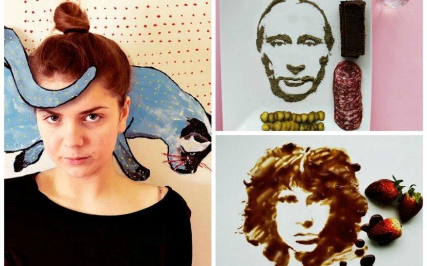 Jolita Vaitkutė ir jos netradicinė tapyba