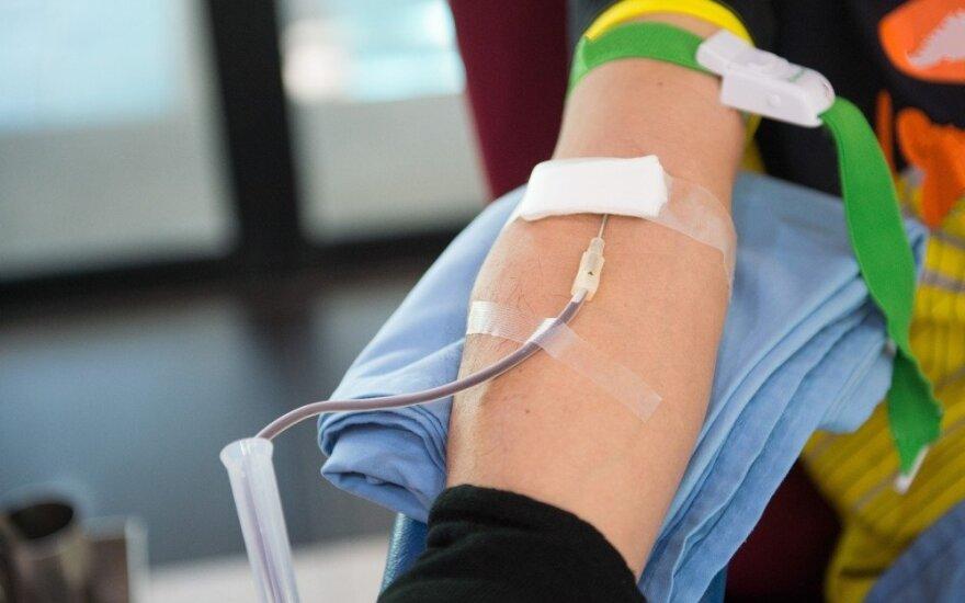 V. Kurpienė: kaip maitintis kraujo donorams