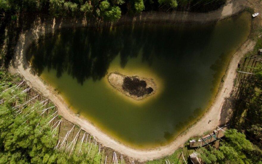 Karolio Janulio darbai: ežeras Lietuvoje