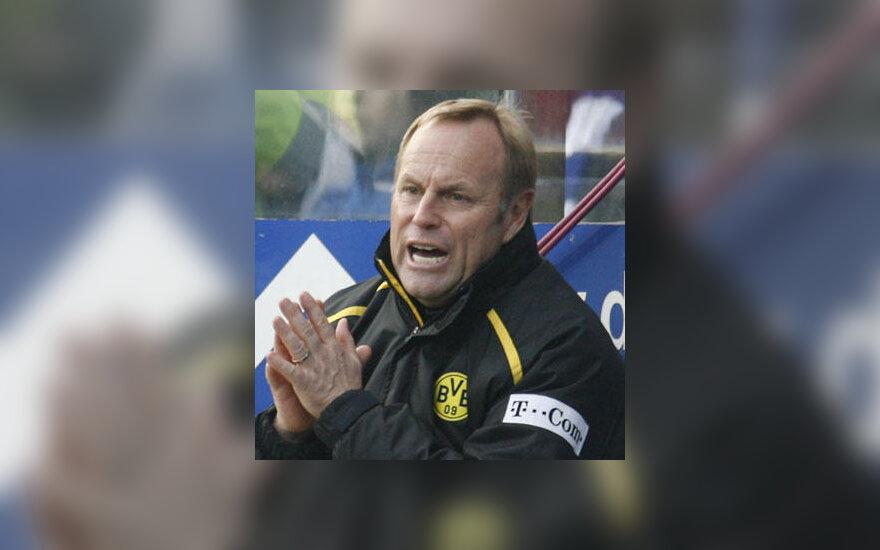 "Juergen Roeber (""Borussia Dortmund"", ex-treneris)"