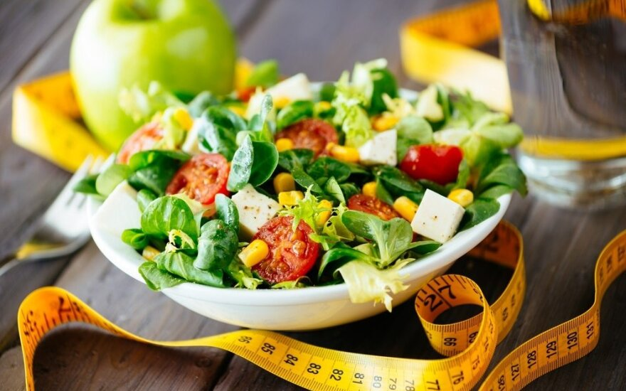 Ar yra skirtumų tarp dietos ir lieknėjimo?