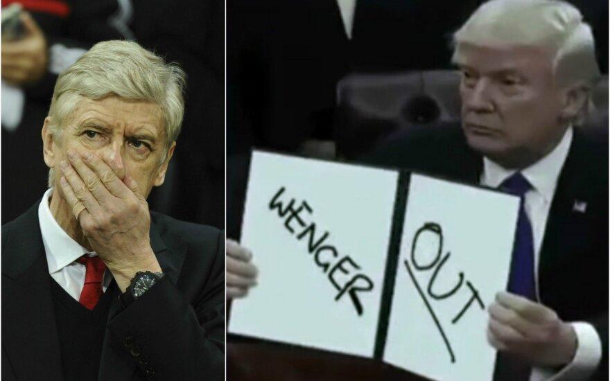 """Arsene'o Wengero karjera """"Arsenal"""" artėja prie pabaigos"""
