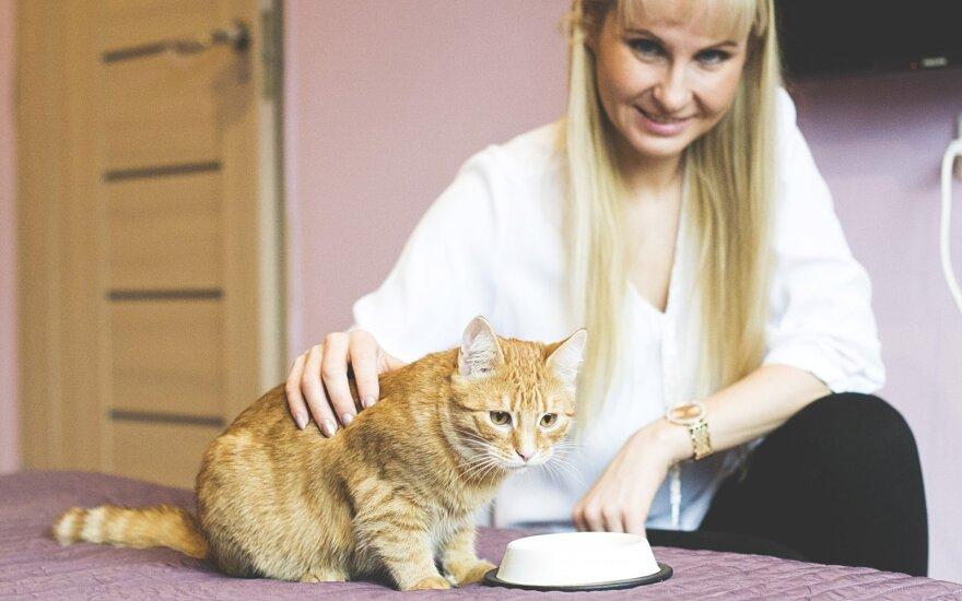 Išgelbėjau kariamą katytę – dabar negaliu atsidžiaugti