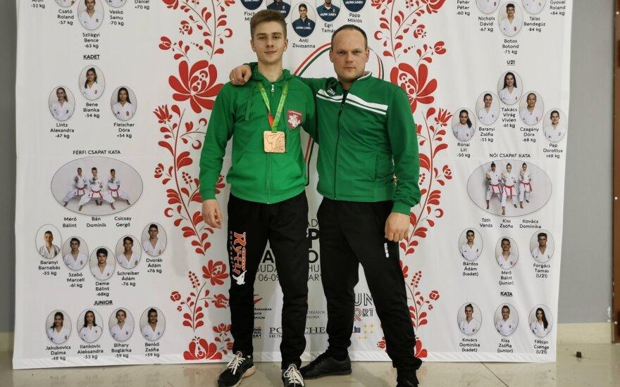 Gvidas Dišlė (kairėje), Aivaras Vasiliauskas