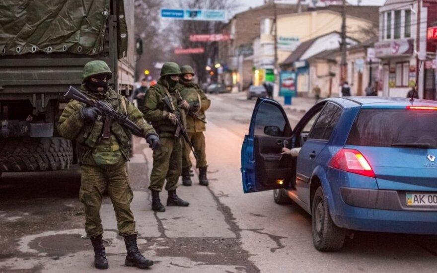 """Russian """"green men"""" in Crimea"""
