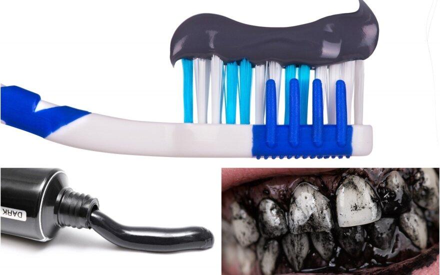 Juoda dantų pasta