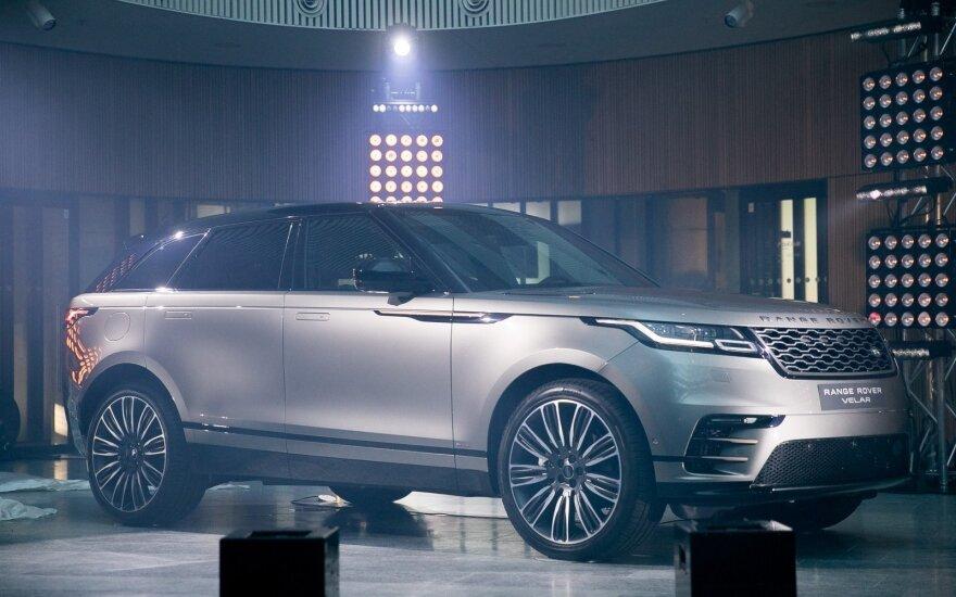 """Range Rover Velar"" pristatymas"