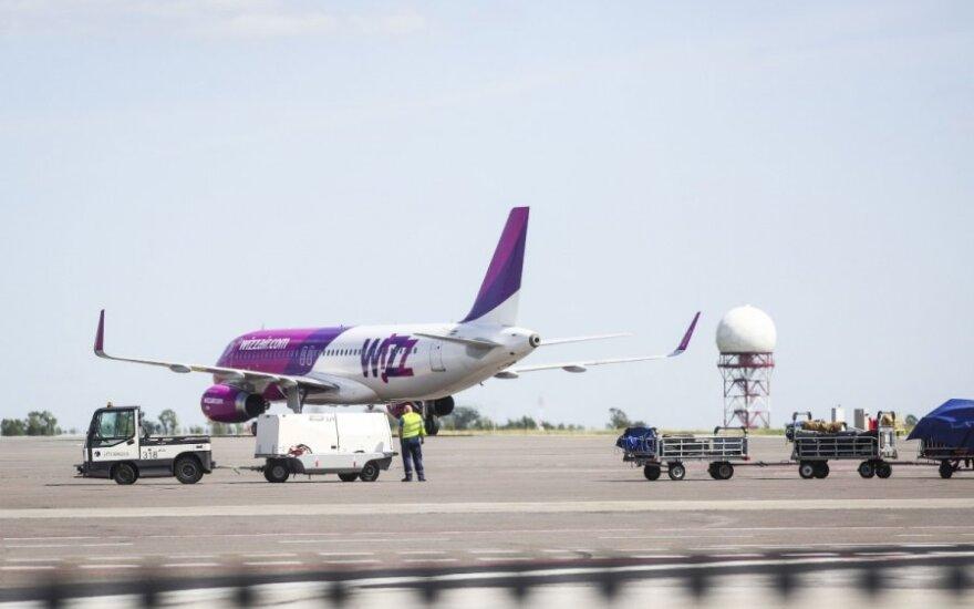 """""""Wizz Air"""" skraidins iš Palangos"""