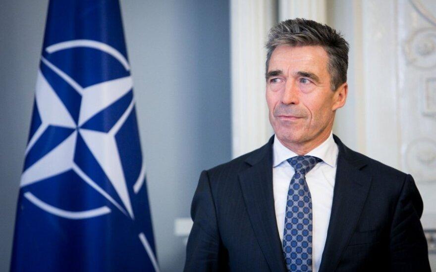 """Buvęs Danijos premjeras palaiko JAV sankcijas """"Nord Stream 2"""""""