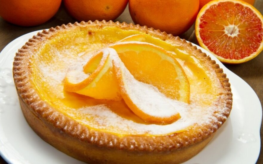 Apelsinų pyragas