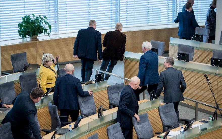 Seimas pritarė Nacionalinio saugumo komisijos sudarymui