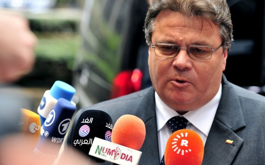 Lithuanian foreign minister disagrees with US and EU praise for Moscow