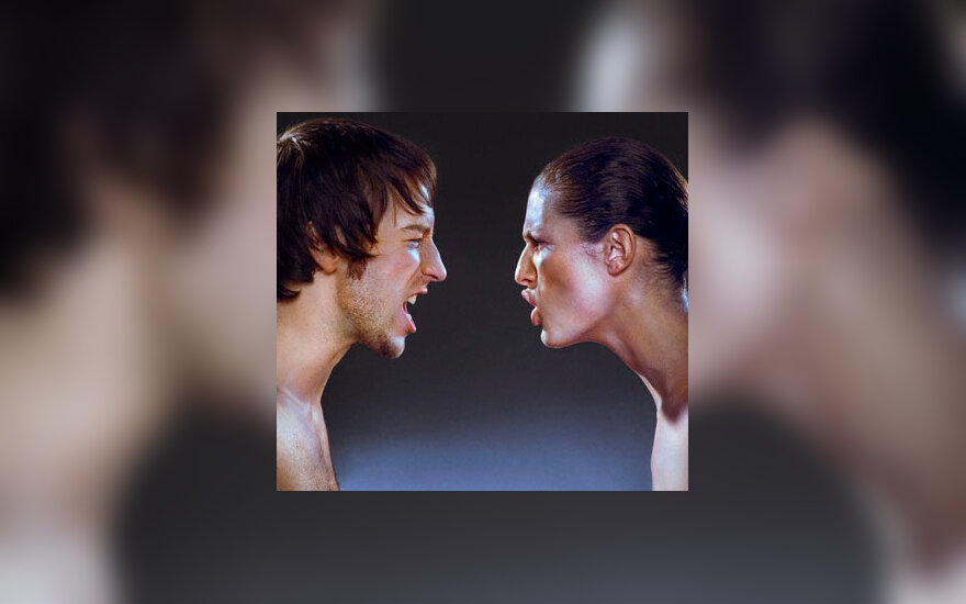 Pyktis, pora, vyras ir moteris