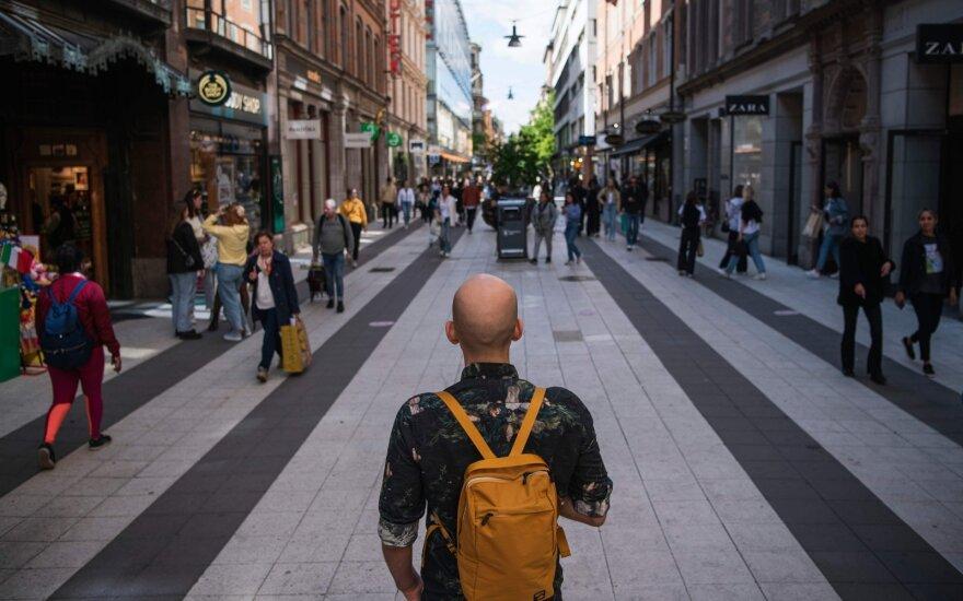 Išvados iš karantino neįvedusios Švedijos