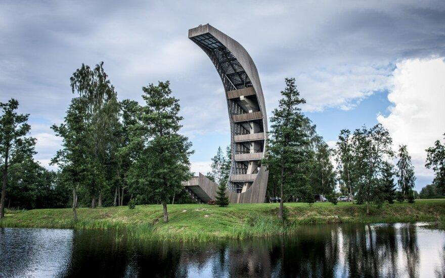 Įspūdingiausias apžvalgos bokštas Lietuvoje: išrinkite, kuris gražiausias